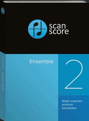Das Scanmodul zum Notenscannen ScanScore Ensemble ist in FORTE Premium enthalten