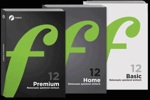 Notenschreibprogramm: Drei Editionen für unterschiedliche Ansprüche